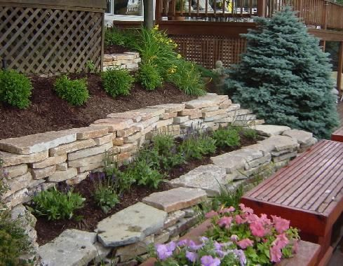 Two Tiered Garden For Front Of House Tiered Garden Front Yard