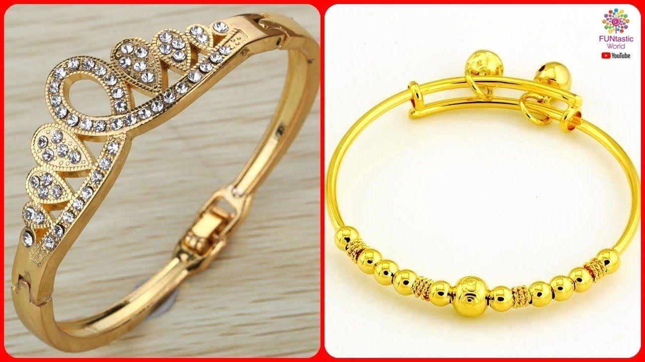 Latest Designer Gold Bracelet Designs For Girls Women Trendy Bracele Trendy Bracelets Bracelet Designs Gold Bracelet