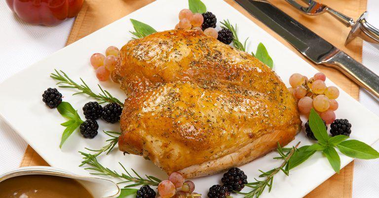 Surgery turkey breast meat