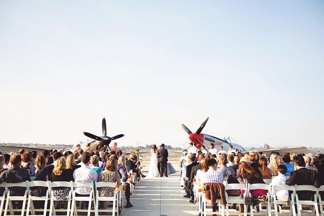 aviation-theme-wedding-ceremony.jpg (1280×853) | airplane wedding ...