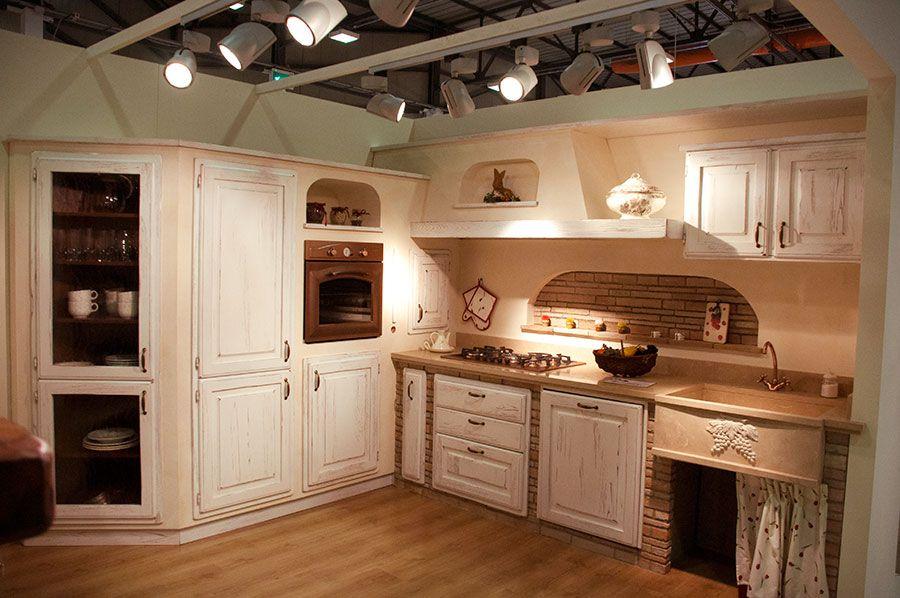 11 cucine rustiche in vera muratura su misura con forno camino caminetti 900 598 - Progetti cucine in muratura rustiche ...