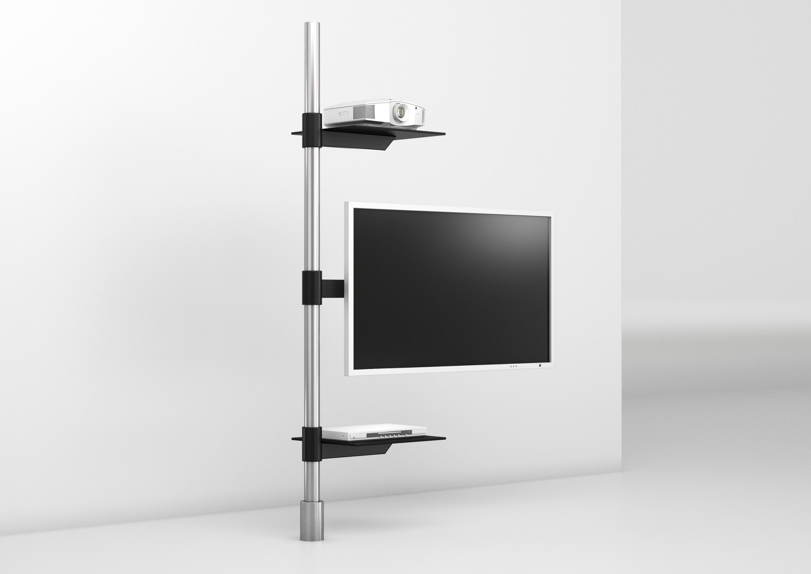 Tv Holder Post Art129 2 Product Design Wissmann Raumobjekte