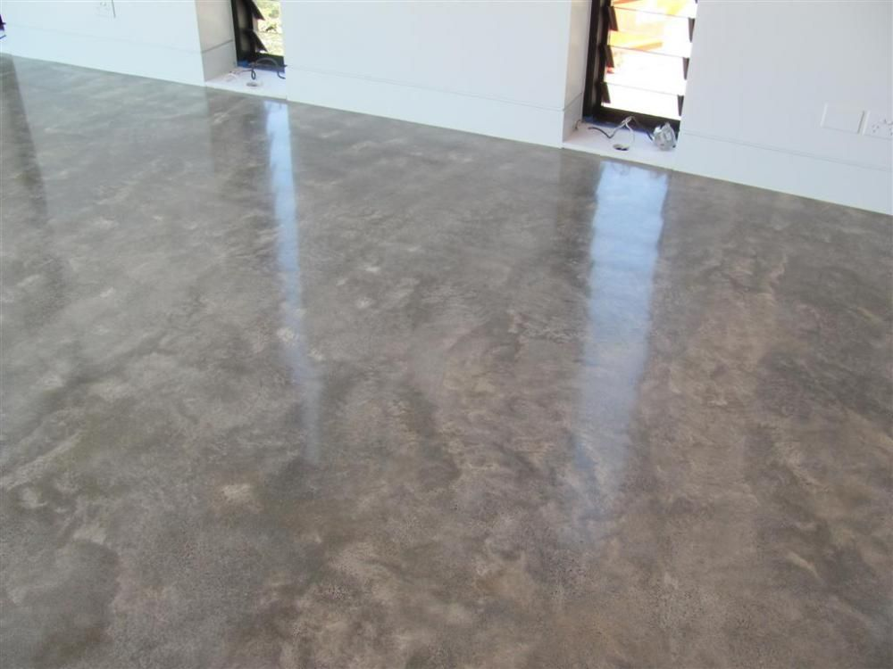 Concrete Floor Wax : How to burnish a concrete floor thefloors