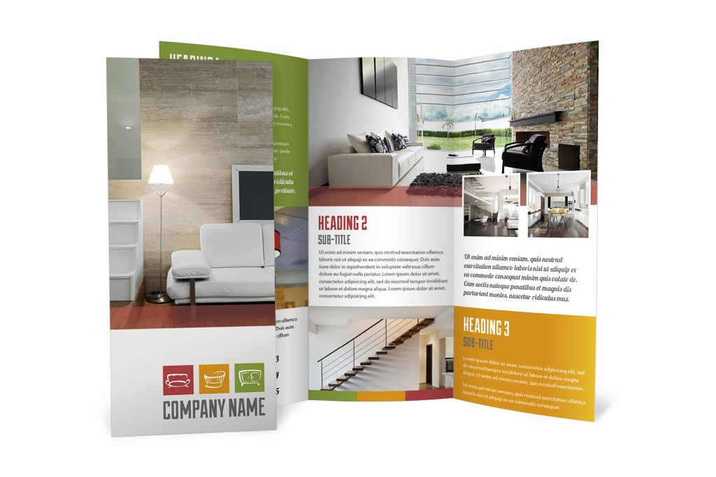 Industrial Interior Design Brochure