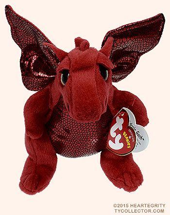 Y Ddraig Goch - dragon - Ty Beanie Babies  e06d94210529