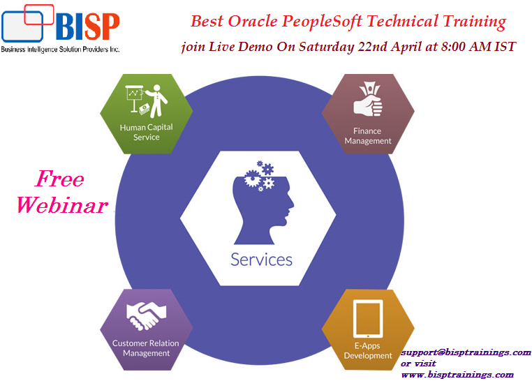 Learn Peoplesoft Technical Internet Architecture. Join free demo on ...