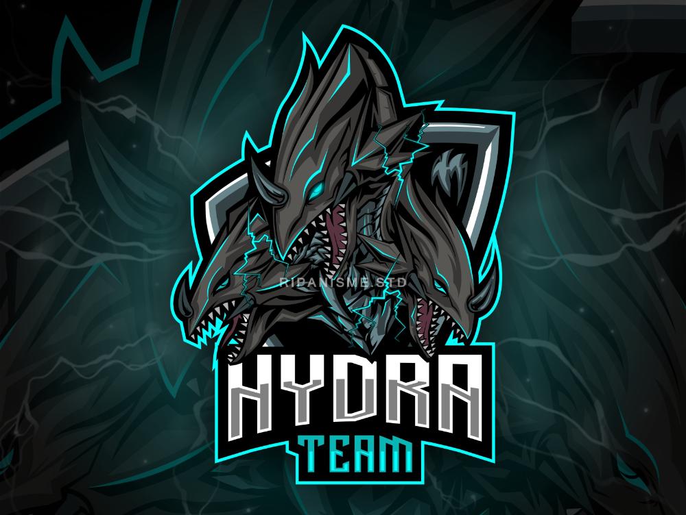 Theree Head Hydra Dragon Logo Design Inspiration Graphics Game Logo Design Iron Man Photos