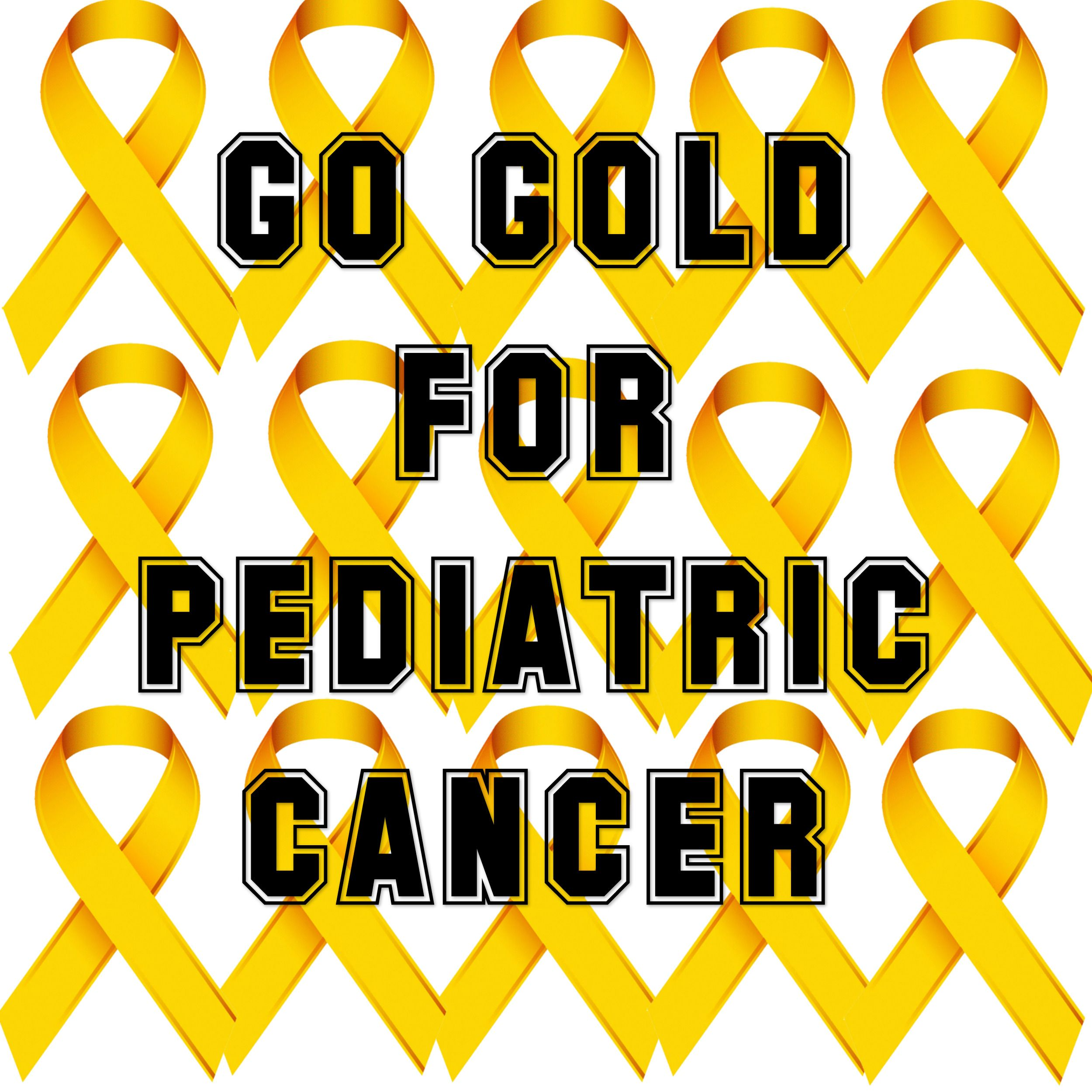 The Gold Ribbon Is A Symbol For Pediatric Cancer So Gogold All