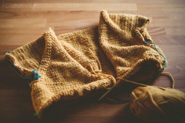cardigan knitting. tidytipsy
