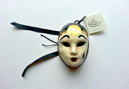 Mini Italian Mask - Pierrot Mignon