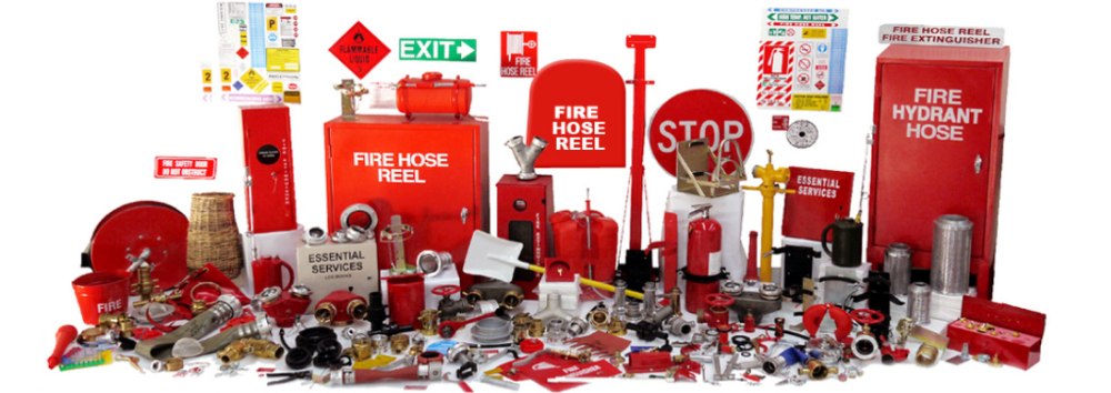 First Aid Kit and Fire Extinguisher for Home Safety
