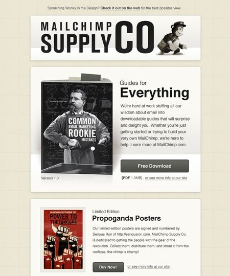 Usaid Email Campaigns Mailchimp Template Designs By Laura Lin