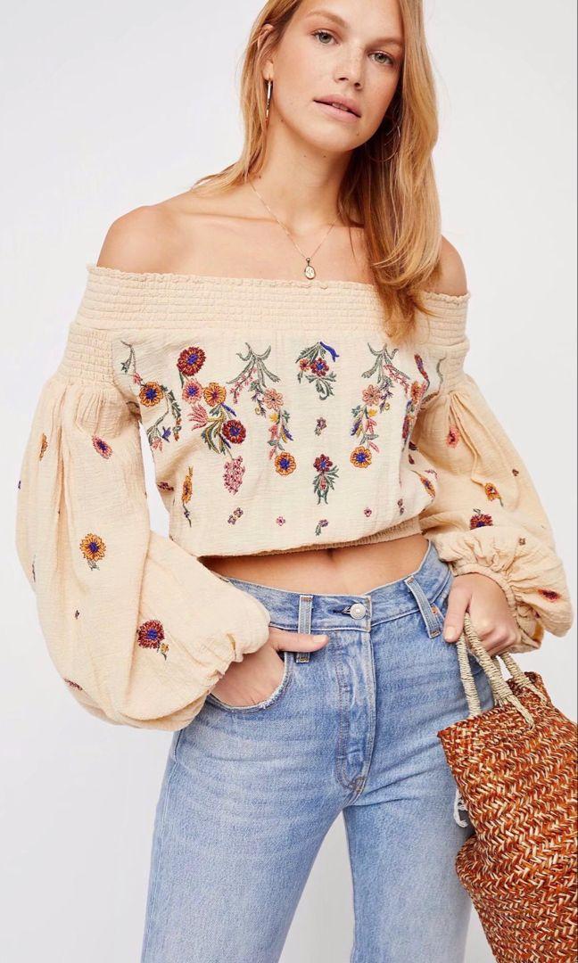 Camellia Floral Top – Style Me Love #granolagirlaesthetic