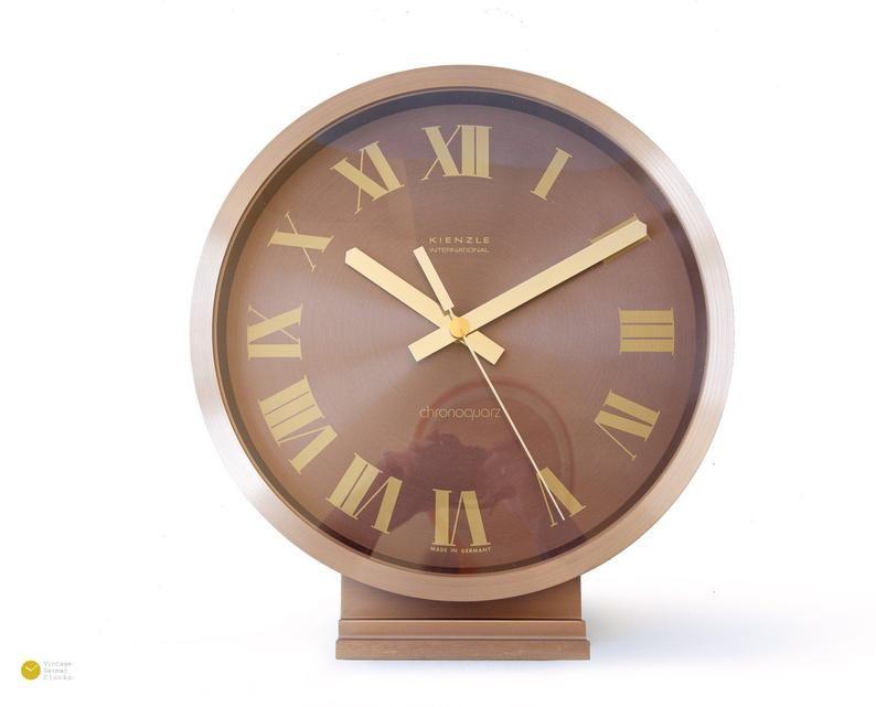 Pin Auf Vintage Desk Clocks