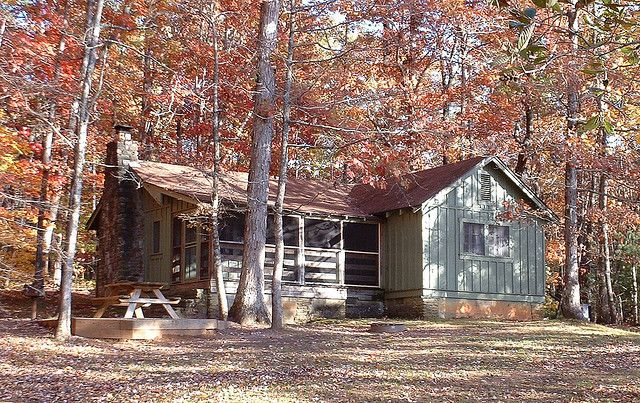 a rental cabin in oconee state park in sc loving south