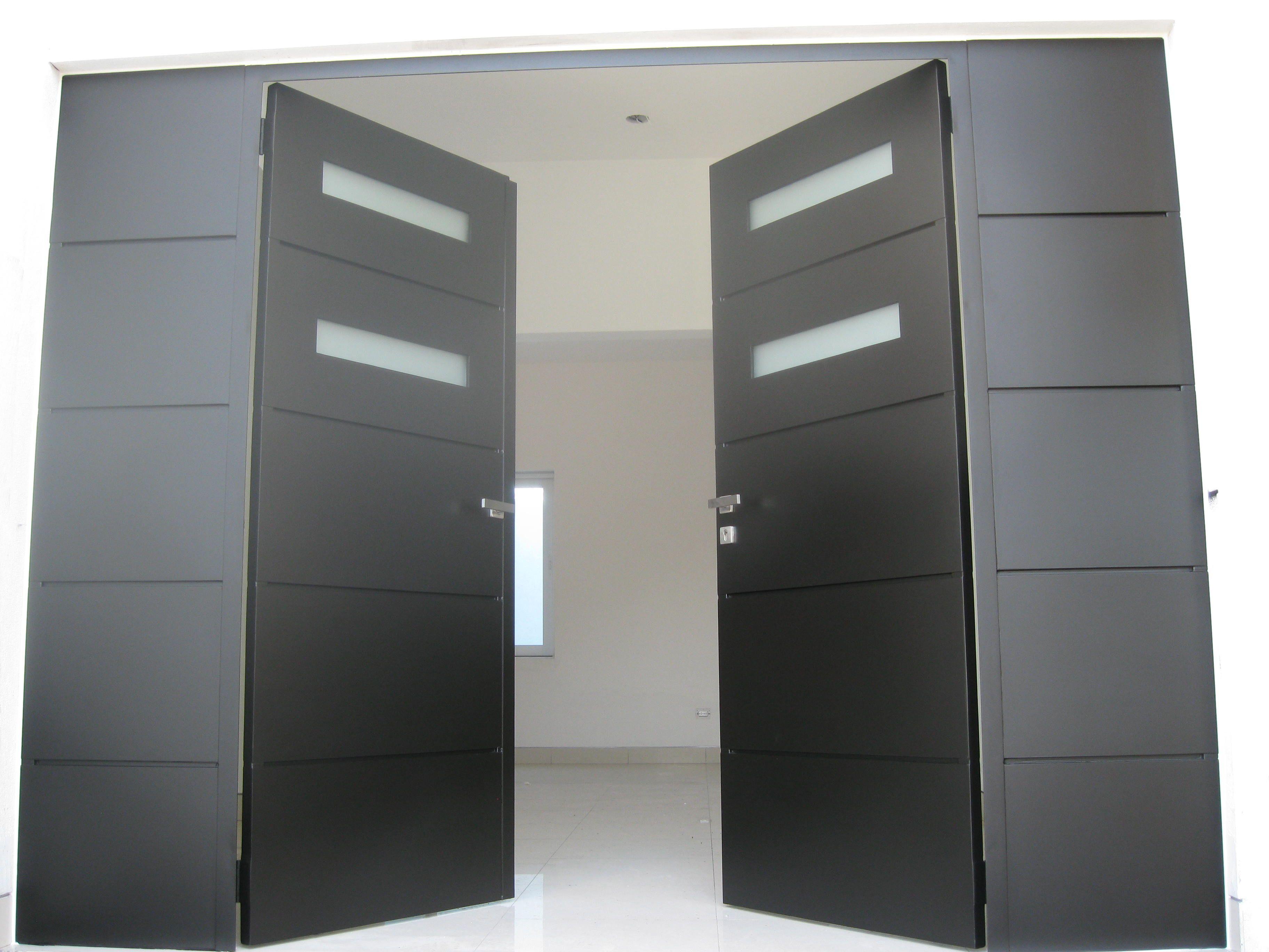 Porton pta herreria portones pinterest puertas for Diseno puerta principal