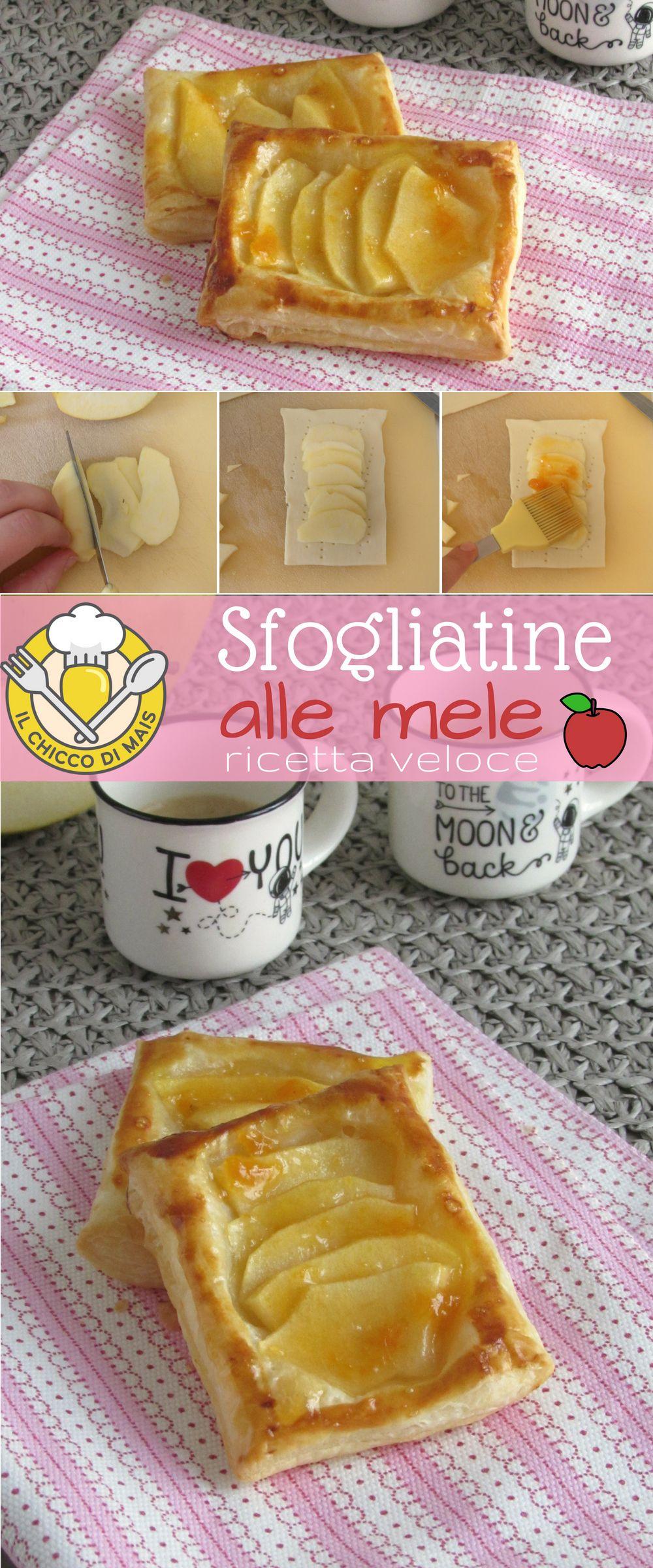 Sfogliatine Alle Mele Dolce Veloce Con Pasta Sfoglia Facile Da