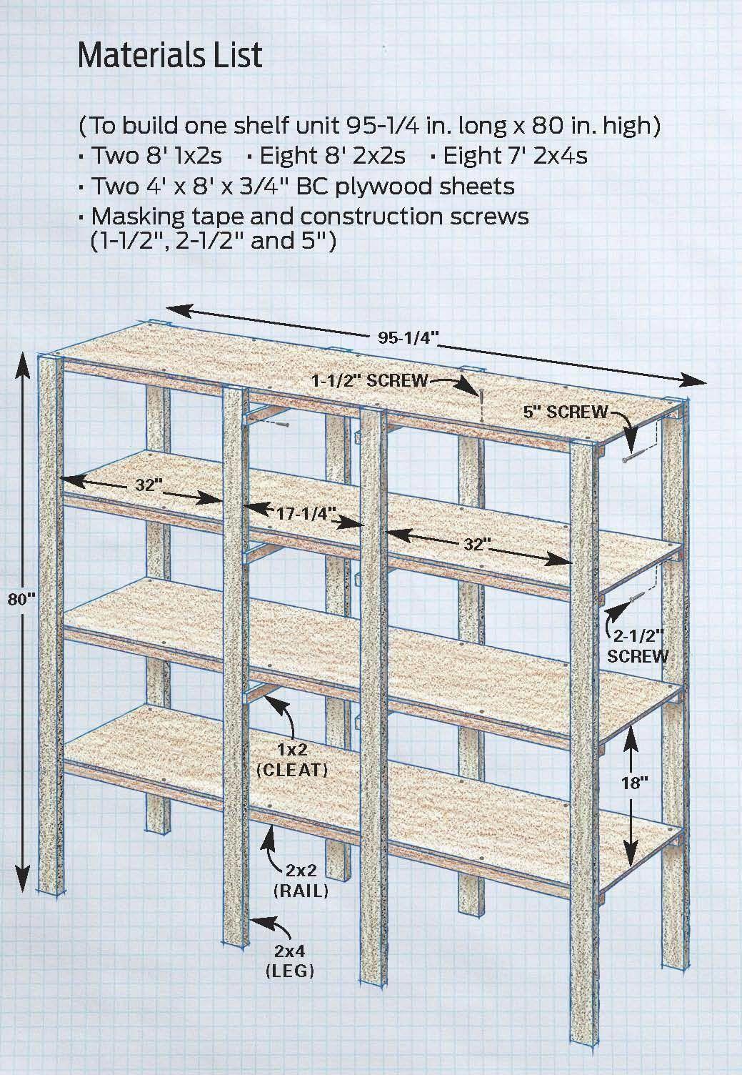 Basement Decor Basement Diy Storage Shelves Diy Garage Storage