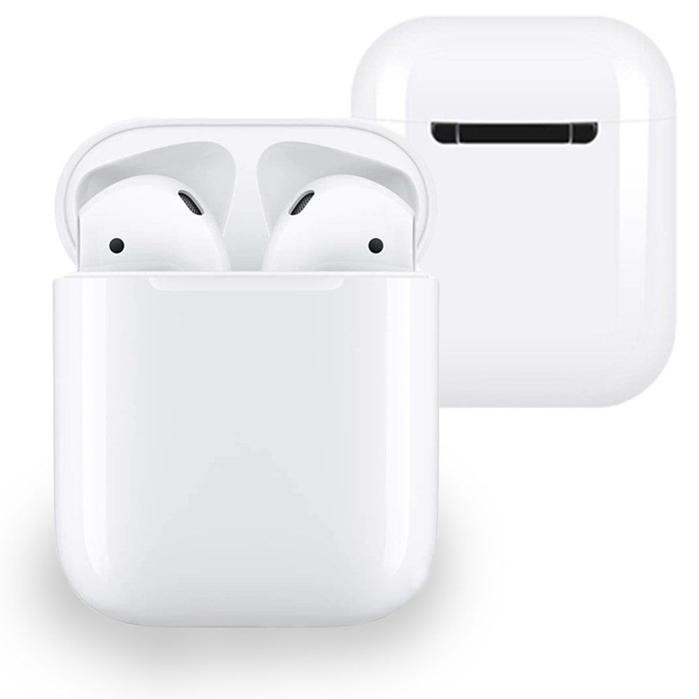 Bluetooth Headphones Wireless Earbuds Stereo Earphone Cordless Sport Headsets For Iphone 8 8 Plus X 7 7 Plus 6s 6s Plus With Charging Line White Walmar Wireless Earbuds Earbuds Bluetooth Headphones