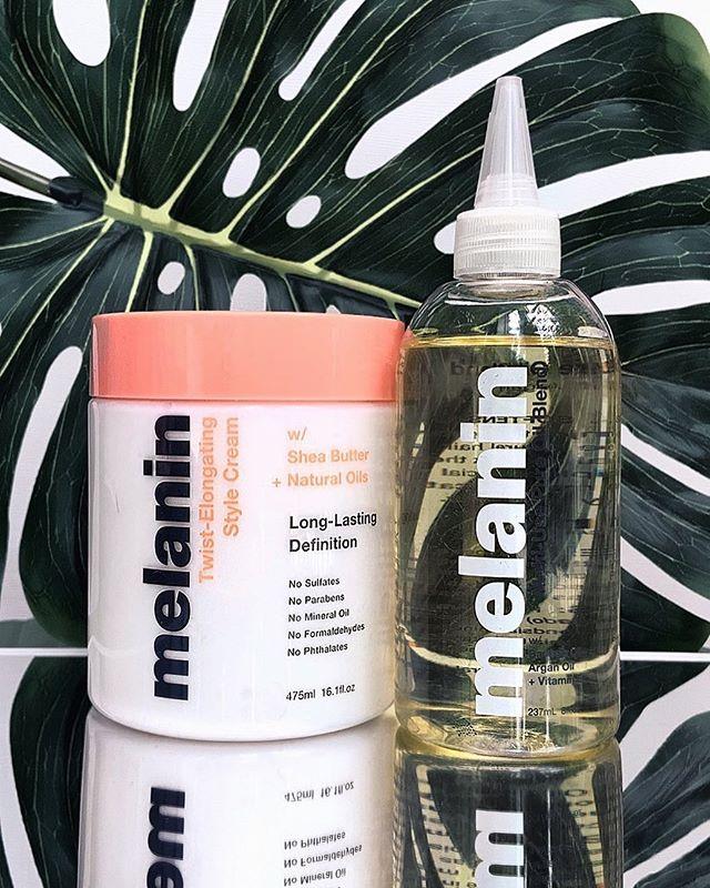 The Melanin Haircare TwistElongating Style Cream + Multi