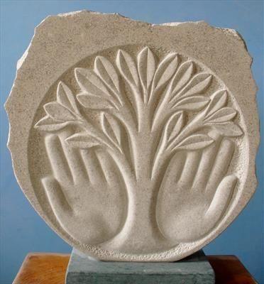 Tree Of Life Tondo Art Trees In 2019 Tree Carving