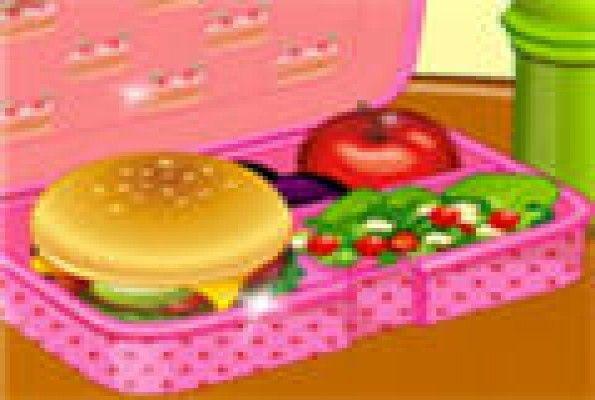 لعبة تحضير وجبة مدرسية العاب بنات