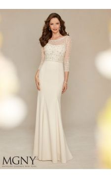 Evening Gowns and Mother of the Bride Dresses by VM Collection Mori Lee