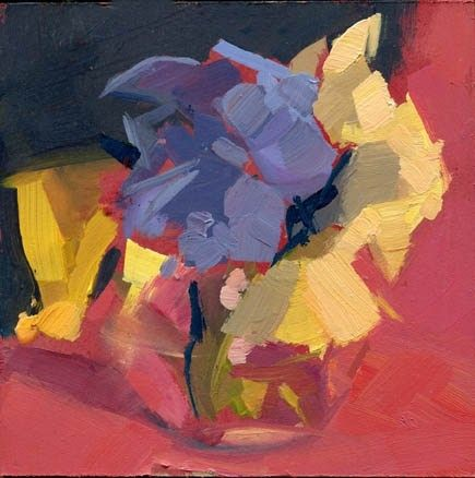 1548 Garnished, painting by artist Lisa Daria Kennedy