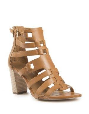studiow gladiator block heel sandal from woolworths