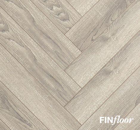 Finfloor Herringbone Laminate Flooring, Rubber Laminate Flooring