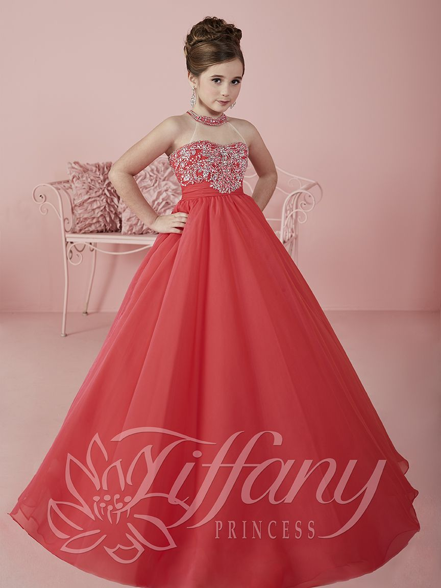 Flower Girl Vestido #13475 Lovely flower girls from tiffany ...
