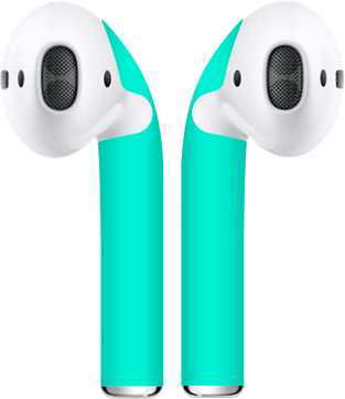 Aqua Airpod Skins Customize The Look Color Of Your Apple Airpods While Protecting Them From Wear And Everyday Scratches Artisan Accessories Aqua Skin
