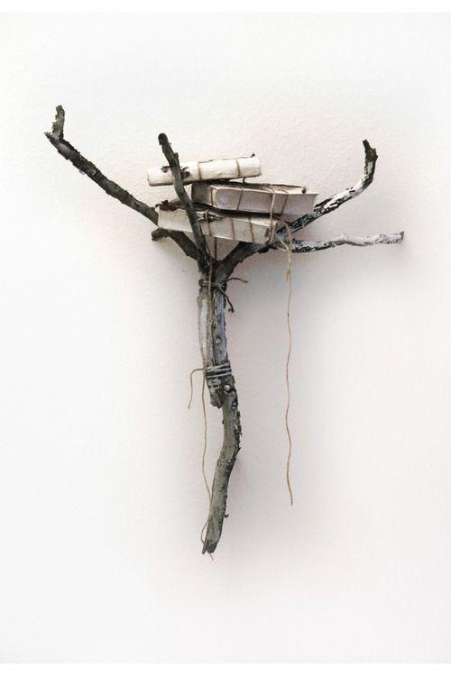 Thoughts nest, nature concept art BJPoesger