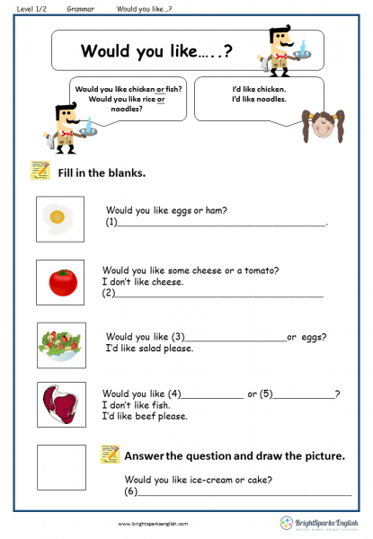 would you like worksheets printables Google Search