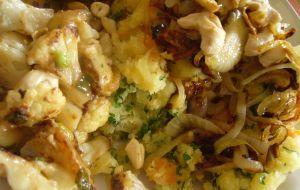 Cavolfiore arrosto con cipolline al profumo di paprika