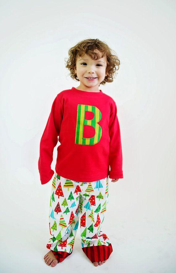 Christmas Outfit - Toddler Christmas Pajamas - Boys Christmas Set ...