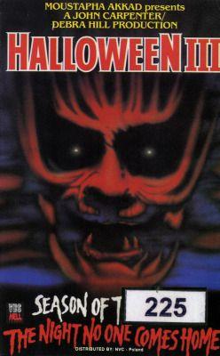 Halloween III aka Halloween III: Sezon czarownic aka Halloween III ...