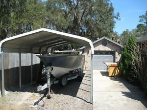 RV / Boat Metal Carports - Portable Delta/Surrey/Langley ...