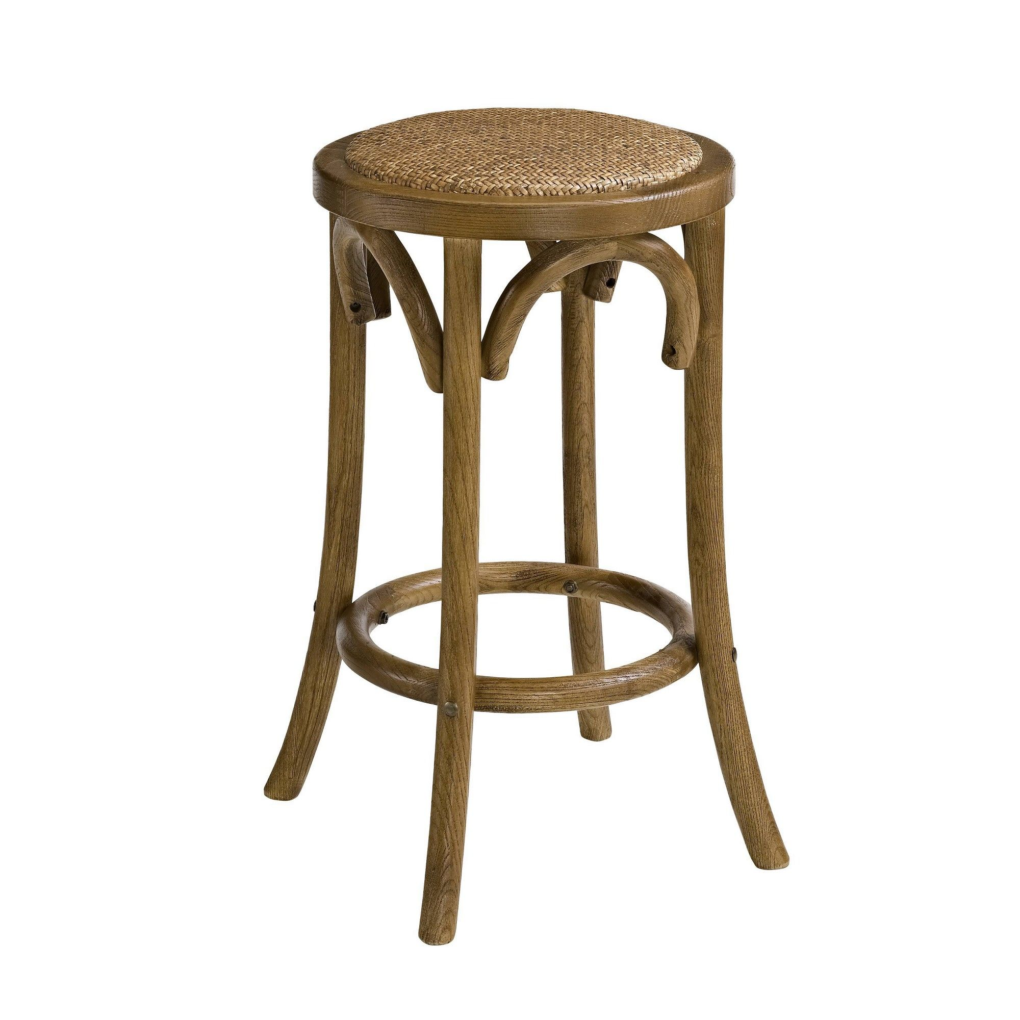 Excellent Rae Backless Counter Stool Brown Linon In 2019 Counter Gmtry Best Dining Table And Chair Ideas Images Gmtryco