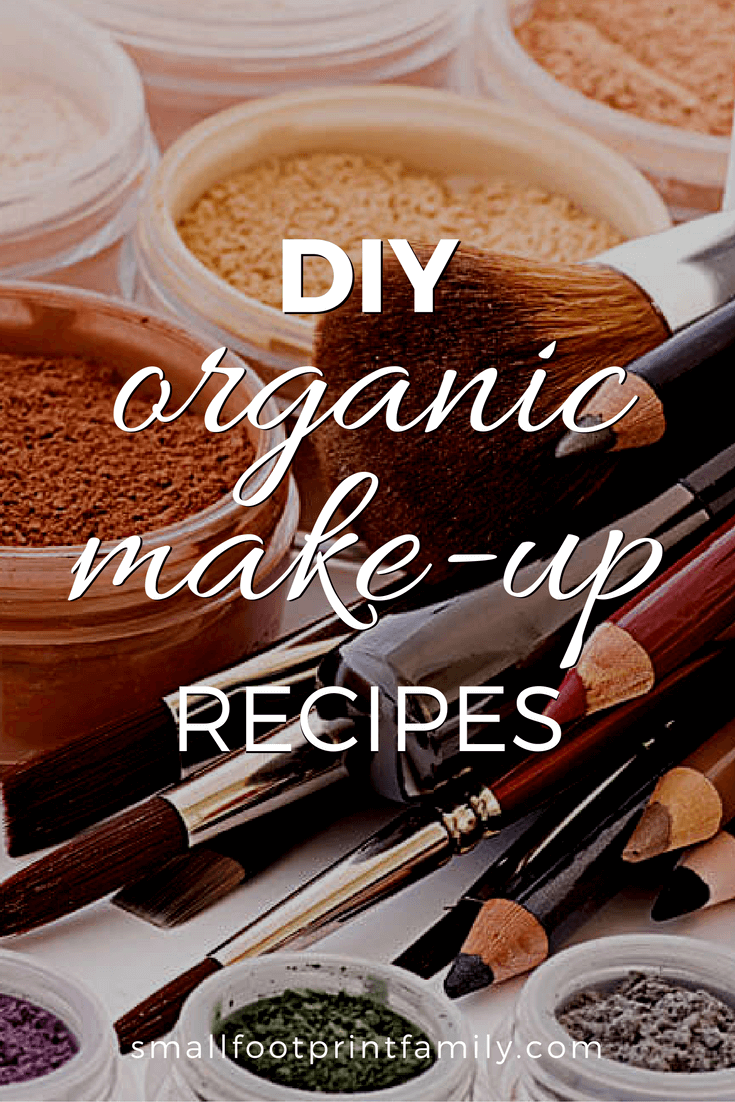 DIY Organic Make-Up Recipes