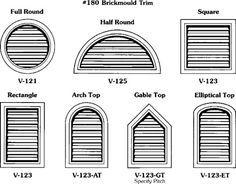 vent above garage door google search window trim exterior