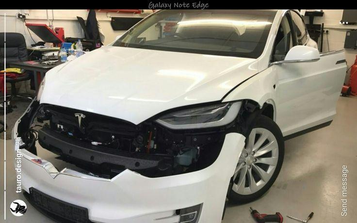 Cool Tesla 2017: Tesla Model X Front nose off... Check more at http://24cars.top/2017/tesla-2017-tesla-model-x-front-nose-off/