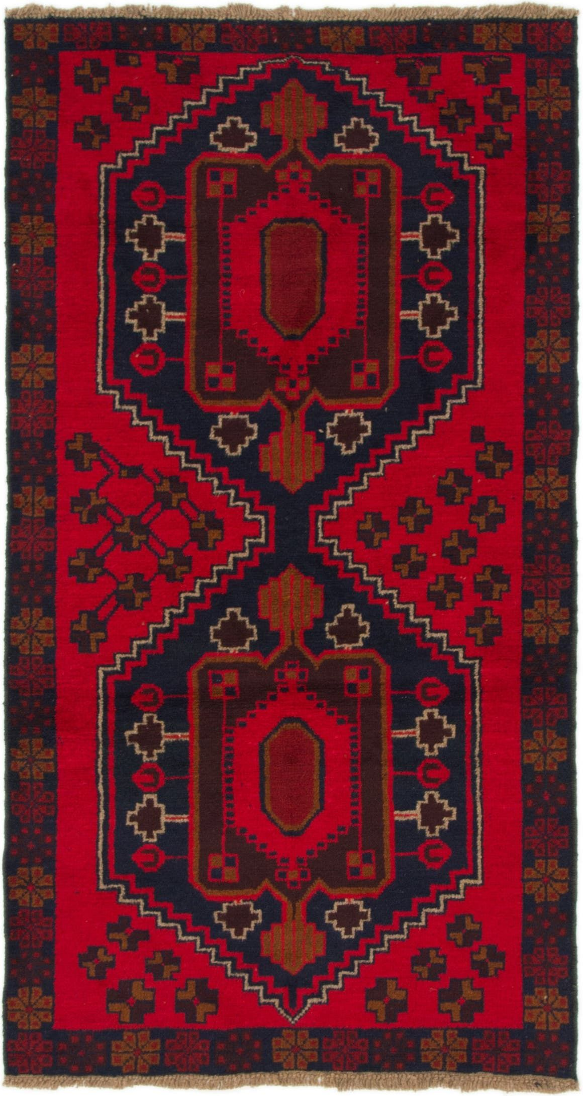 Balouch Red 4x6 Area Rug In 2020 Persian Rug Rugs 4x6 Area Rugs