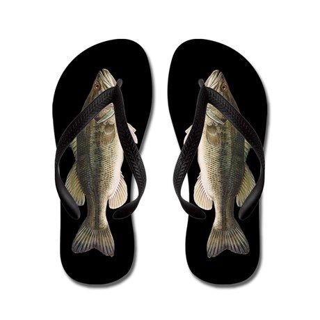 8e1d8794a Fish Flip Flops - Bass - Dirty Santa Gift Ideas (CafePress.com ...
