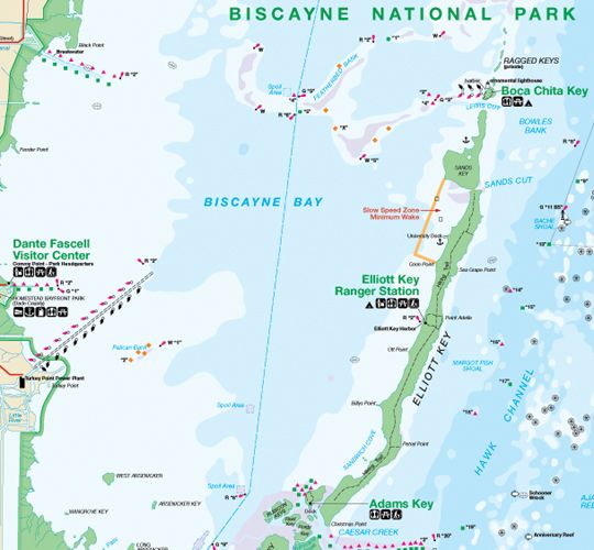 Biscayne national park map Yahoo Search Results TRAVEL