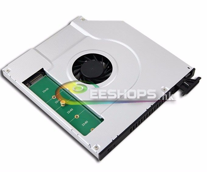 Laptop 9 5mm Sata Optical Drive Bay Internal Cooling Fan Cpu