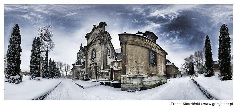Jedrzejow Abbey by Grim-Jester.deviantart.com on @deviantART