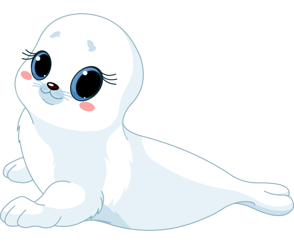 Smileys App With 1000 Smileys For Facebook Whatsapp Or Any Other Messenger Baby Seal Baby Clip Art Seal Cartoon
