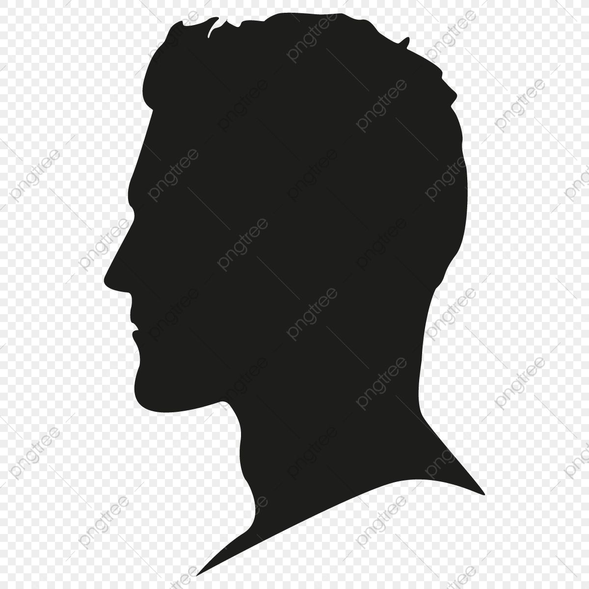 Male Silhouette Head Vector Png Free Male Silhouette Head Person Head Male Silhouette Profile Png And Vector With Transparent Background For Free Download Silhouette Head Silhouette Male Profile