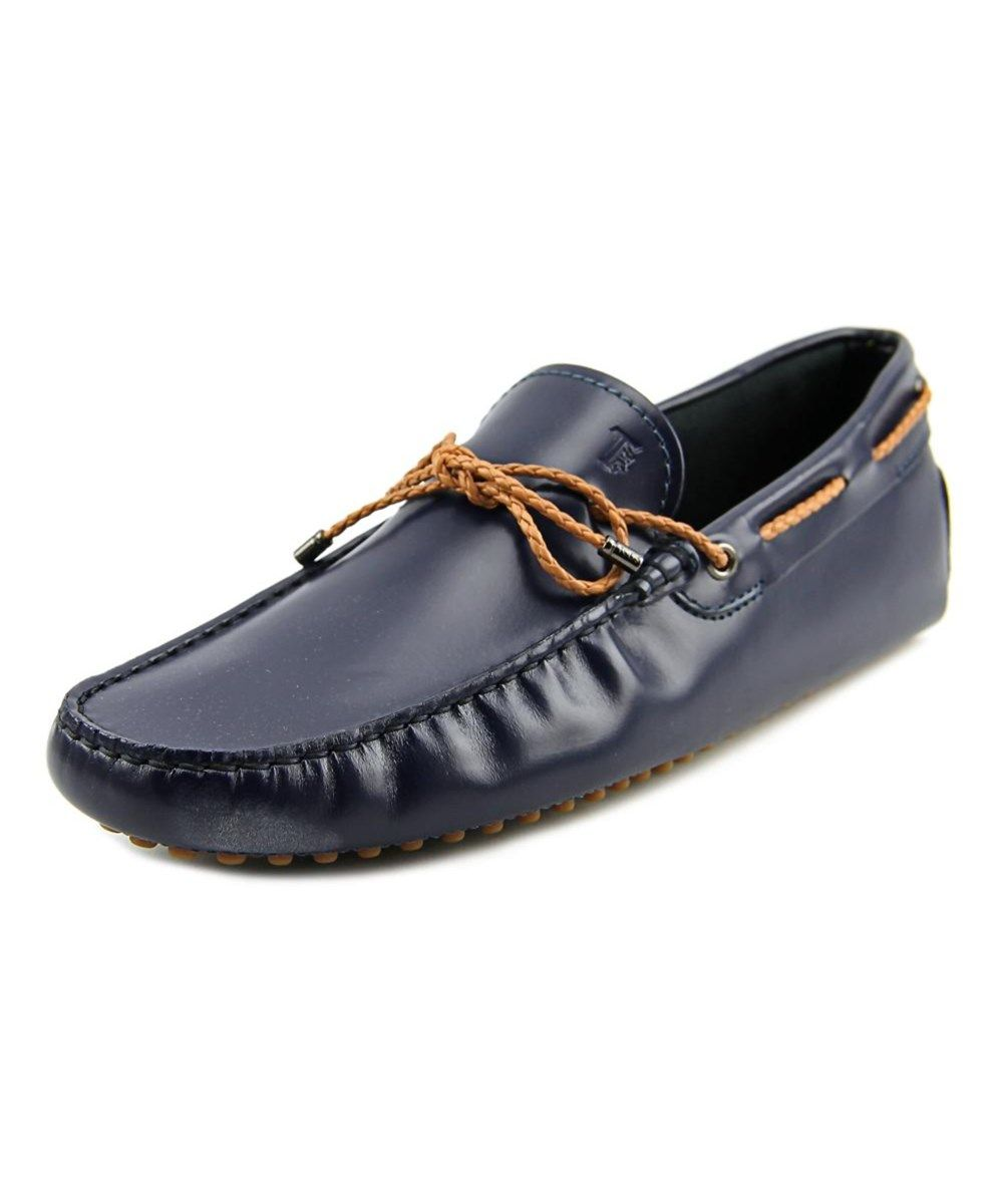 9a7fb11a2d8 TOD S Tod s Laccetto My Colors New Gommini 122 Men Moc Toe Leather Blue  Loafer.  tods  shoes